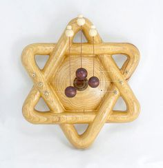 Shield of David door harp perfect harmony for your house