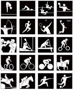 pictogrammen olympische spelen 1