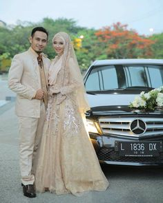 muslimweddingideasCongratulations to the beautiful sister @sitiandinia ♥ May your marriage be full of blessings, ameen! ♥