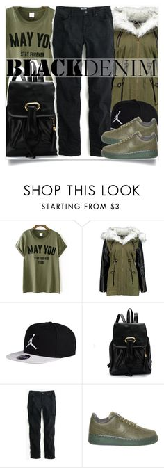 School Fashion by madeinmalaysia on Polyvore featuring mode, J.Crew, NIKE and blackdenim