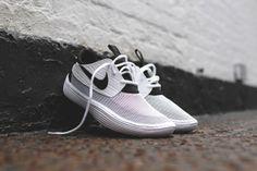 Nike – Solarsoft Moccasin White/Black   Be Street