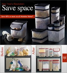 organize my tupperware