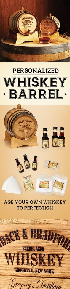 More than just a gift for a whiskey-loving dad, this personalized miniature oak barrel accelerates the aging process, so the recipient's choice of liquor will hit its prime up to ten times faster.