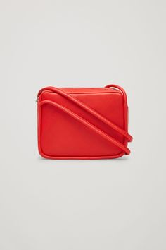 COS image 5 of Mini shoulder bag in Red
