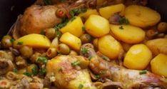 poulet-aux-olives-champignons1