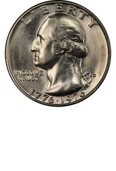Washington Bicentennial Quarter Clad (Obverse) Years Made: 1975 Mark Sell Coins, Us Coins, Bullion Coins, Silver Bullion, Rare Coin Values, Stamp Values, Old Coins Worth Money, Sacagawea Dollar, Gold American Eagle