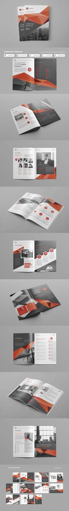 Company Profile - professional business profile template