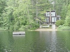 Denmark cottage rental - View from the lake