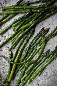 Oven-Roasted Asparagus by Kim | Affairs of Living, via Flickr