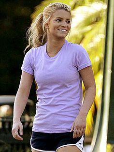 Jessica Simpson Workout outfit