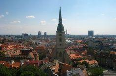 Bratislava top things to do - View from the Castle - Copyright Dan Bratislava Slovakia, European Destination, City Break, Burj Khalifa, Capital City, Amazing Destinations, Best Hotels, Empire State Building, Budapest