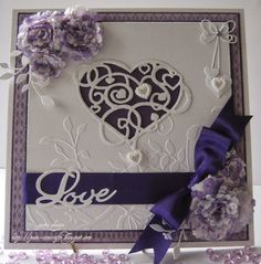 pamscrafts: heart strings.   Another beautiful card by Pam using our Frantic Stamper Precision dies.  This one uses the Heart Strings die (https://franticstamper.com/Frantic-Stamper-Precision-Cutting-Die--Heart-Strings_p_103212.html) and Love Filled Heart die (https://franticstamper.com/Frantic-Stamper-Precision-Cutting-Die--Love-Filled-Heart_p_103218.html)
