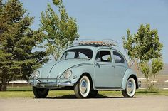 1957 VW Beetle Oval WIndow By Simon Clay, 2008  #vw_vintage_morat Volkswagen