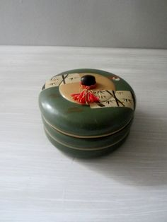 Vintage Lacquer Bento Box by lmlois on Etsy, $10.00
