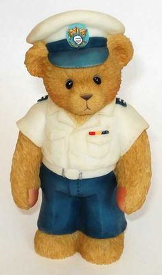 Heidi´s Cherished Teddies Galerie: COASTGUARD TEDDIE - Life Is Smooth Sailing With You (742961)
