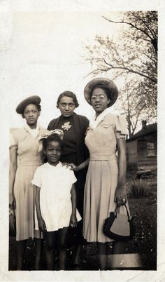 african-american family photos 1930s - Google Search