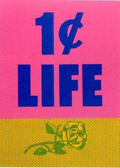 Lichtenstein '1 Cent Life' 1964