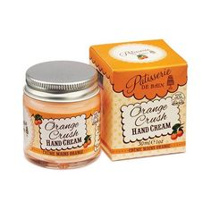 Uplift your senses with the aroma of Patisserie de Bain Orange Crush Hand Cream 30ml whilst moisturising your hands. Free delivery worldwide available.