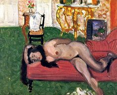 Woman on a Couch Henri Matisse - 1919