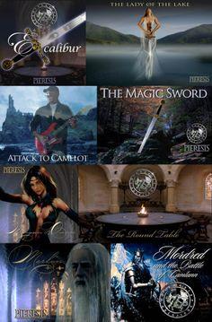 """Immagini tratte dall'album """"Excalibur"""""""