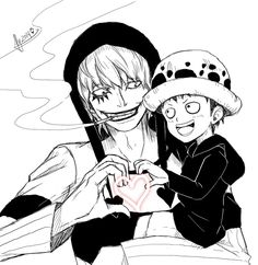 <3 Papa and son of hearts <3  For today's one piece 69min prompt!