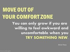 Move out of your comfort zone - brian tracy quote------Gotta amp myself up 4 the week ; Fitness Motivation Quotes, Business Motivation, Workout Motivation, Fitness Goals, Health Fitness, Gym Fitness, Motivational Blogs, Inspirational Quotes, Motivational Message