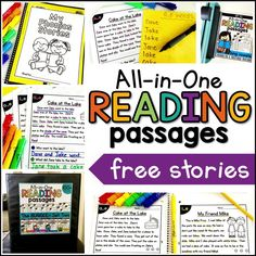 Free Phonics Reading Passages from my second All-in-One Reading Passages Bundle! Have you heard? After so much positive feedback about my original All-in-One Reading Passages Bundle, I've finally decided to make a second set!I started with the long vowel reading passages. It *just so* happened that I finished it on the same day that my new binding machine came in! Coincidence? I think not! (Don't tell my husband). I have the masters of the original set in page protectors inside a…
