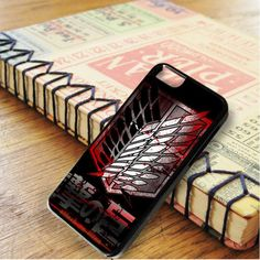 Attack On Titan Military Blood Logo iPhone 6|iPhone 6S Case