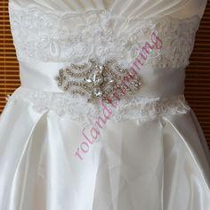 14,91 3sztwholesale bride new bridal crystal rhinestone decorative designer evening womens belts ra336-in Belts & Cummerbunds from Women's Clothing & Accessories on Aliexpress.com | Alibaba Group
