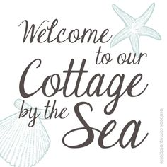 Sea Clearly Cottage is ready for your beautiful shares.thanks, everyone, for choosing to be a part of the calming coastal experience. Coastal Cottage, Coastal Homes, Coastal Living, Coastal Style, Cottages By The Sea, Beach Cottages, Beach Haven, Seaside Beach, Seaside Decor