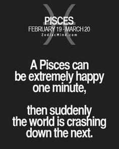 Zodiac Mind - Your source for Zodiac Facts. So true! Time means the most Pisces Traits, Pisces And Aquarius, Pisces Love, Astrology Pisces, Zodiac Signs Pisces, Pisces Quotes, Pisces Woman, Zodiac Mind, Zodiac Facts