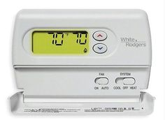 White-Rodgers 1F86-344 White 80 Series Standard Single Stage heat/cool