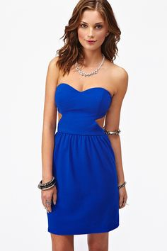 Strapped Sweetheart Dress