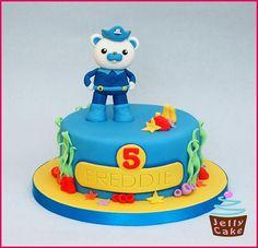 Octonauts cake - Captain Barnacle