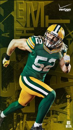 NFL Mobile from Verizon keeps Packers like Clay Matthews by your side all year long. Tackle the fear of missing out on football. #FOMOF