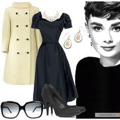 Love Audrey Hepburn's style...