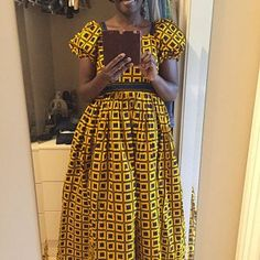 Items similar to Blue african ankara mini dress with flared and fitted sleeves/ankara dress/african print/ blue dress/off the shoulder dress/party dress/ on Etsy Ankara Maxi Dress, African Maxi Dresses, African Wedding Dress, African Attire, Dress Prom, Ankara Jumpsuit, Ankara Blouse, Dress Wedding, Corsage