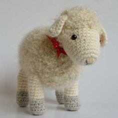 Cora the mother sheep amigurumi crochet pattern by Little Wooly Creations