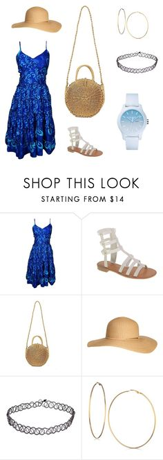 """""""2018 my summer"""" by zhicunfong on Polyvore featuring Chinese Laundry, H&M, GUESS and Lacoste"""