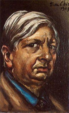 Autorretrato -Giorgio de Chirico - 1949