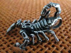 Scorpion Necklace Stainless Steel Pendant Necklace Chain Unisex #Necklaces #Pendant