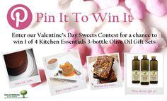 Enter our Valentine's Day Pin It To Win It Contest. Click on this image to learn more. You could win one of four Kitchen Essentials Gift Sets. #pintowin #contest
