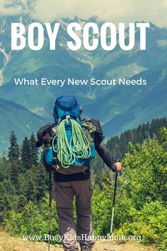 Master list for Boy Scout Camp, What every new Boy Scout needs, Parent Tips for Boy Scout camp
