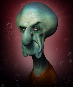 ArtStation - Squidward, Wil Hughes
