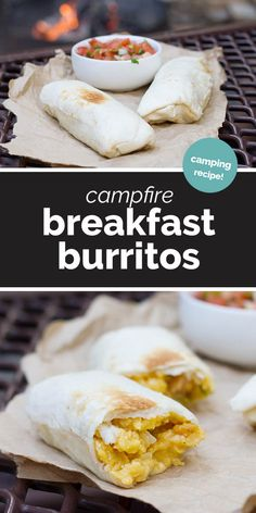 Forget the bagels and the cereal - you can have a hot breakfast even when mornings are crazy when you are camping with these make-ahead Camping Breakfast Burritos! food dinner Camping Breakfast Burritos - Taste and Tell Camping Checklist, Camping Hacks, Camping Supplies, Camping Cooking, Camping Essentials, Make Ahead Camping Meals, Camping Guide, Camping Gear, Outdoor Camping