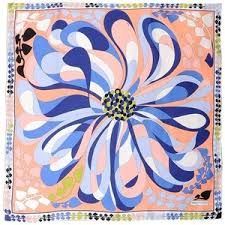 Emilio Pucci 'Tulipani' Silk Scarf - Google Search