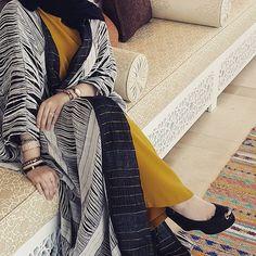 IG: Haamah || Modern Abaya Fashion || IG: Beautiifulinblack