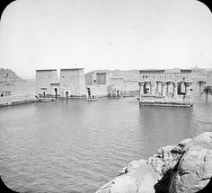 General view of Temple of Philae, Egypt., 1908., Brooklyn Museum Archives
