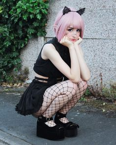 30 Pastel Goth Looks for this Summer - Ninja Cosmico