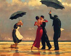 "Jack Vettriano - ""The Singing Butler"""